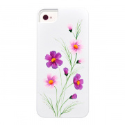 iCover панель  для iPhone 5 Wild Flower, бело-пурпурн. IP5-HP/W-WF/PP