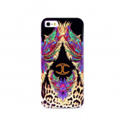 "Just Cavalli панель  для iPhone 5 ""Wings"", пластик фиолетовый, JCIPC5WINGS1"