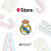 "Стикер iStore ""Real Madrid"""