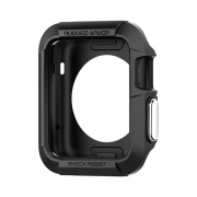 SGP Spigen чехол для Apple Watch (38mm) Rugged Armor, черный SGP11485