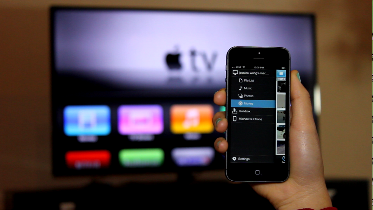 Настроить Apple TV с помощью iPhone