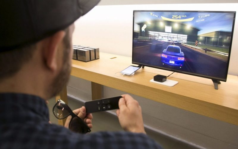 играть на apple tv